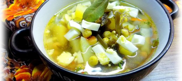 суп с черносливом рецепт с фото