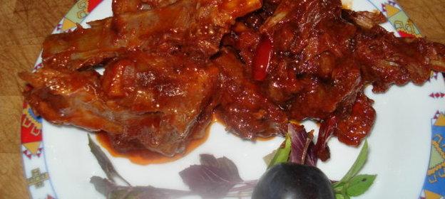 Ребрышки бараньи с овощами рецепт пошагово