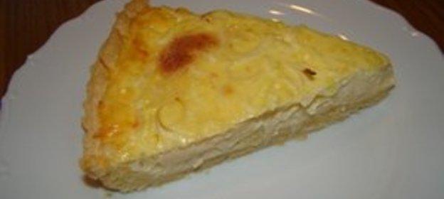 Пирог с луком пореем рецепт пошагово в духовке