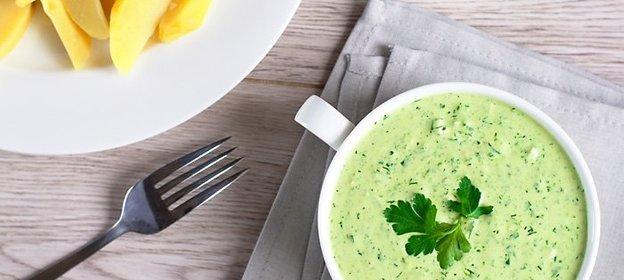 Соус из зелени рецепт пошаговый