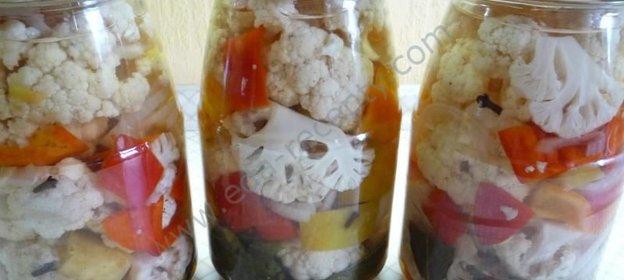 Рецепты капусты на зиму пошагово