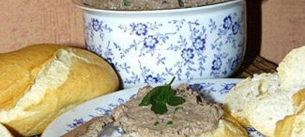 Домашний паштет из куриной печени пошагово