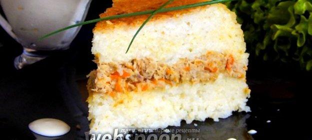 Рисовая запеканка рецепт пошаговый с