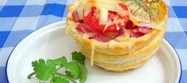 Порционная пицца рецепт с фото