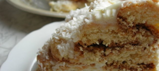 Торт Снежная горка