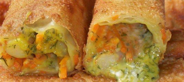 Роллы рецепт с креветками и сыром с пошагово