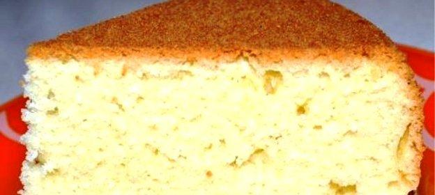 Высокий бисквит рецепт пошагово 60