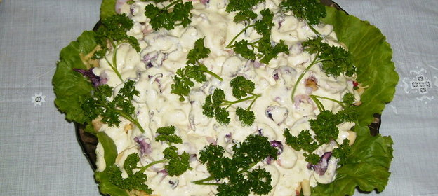 Рецепт морского салатика с фото