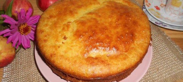 Пирог с творожной начинкой пошаговый рецепт с