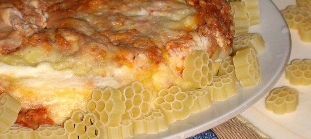 Рецепт запеканки с макаронами пошагово с