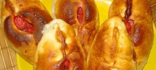 Тесто для сдобных булочек рецепт с пошагово