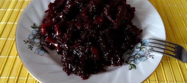 Рецепт свекольной икры тушеной пошагово с фото