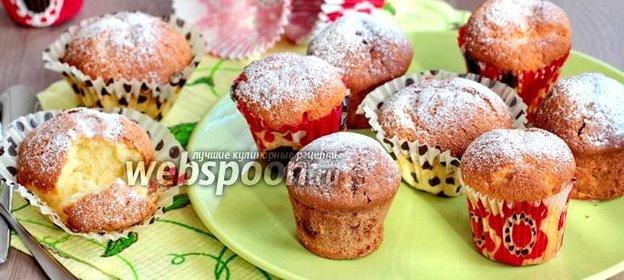 Творожные кексы в бумажных формах рецепт с пошагово