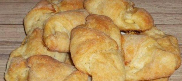 Вкусные рогалики рецепт с фото