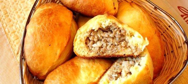 Жареные пирожки с мясом пошаговый рецепт с